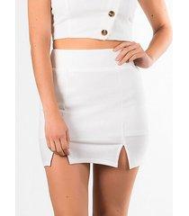 faldas blanco derek 817962