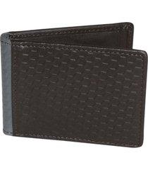bellamy rfid front pocket flip wallet