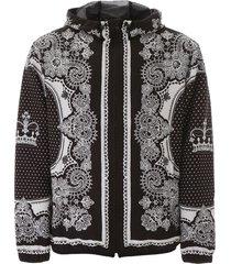 dolce & gabbana bandana and crown jacket