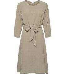 2nd june jurk knielengte beige 2ndday