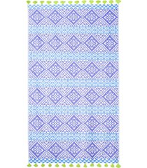 john robshaw ramya 100% cotton beach towel bedding