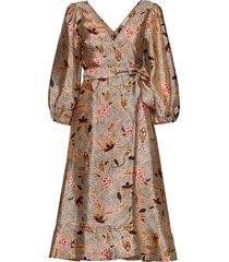 eske dress jurk knielengte multi/patroon second female
