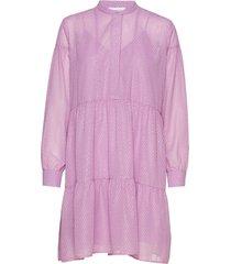 calla shirt dress 11512 kort klänning rosa samsøe & samsøe