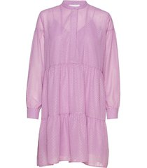 calla shirt dress 11512 kort klänning rosa samsøe samsøe