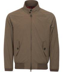 baracuta taupe g9 harrington jacket brcps0001-642