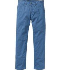 pantaloni 5 tasche regular fit straight (blu) - bpc bonprix collection