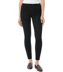 women's sam edelman kitten ankle skinny jeans, size 25 - black