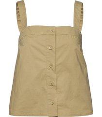 barbara top 10783 t-shirts & tops sleeveless beige samsøe samsøe