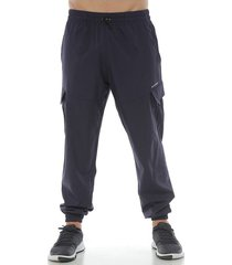 pantalón protección con antifluido, azul oscuro