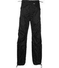 translucent nylon pants