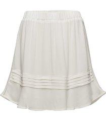 vice skirt kort kjol vit modström