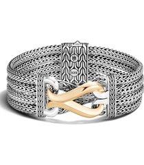 women's john hardy asli classic chain link multi row bracelet