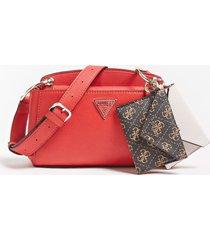 mała torebka typu crossbody z charmsem w kształcie portmonetki model kirby