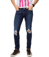 jean azul levis 711 skinny  hide and seek