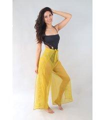 pantalón amarillo spiga 31