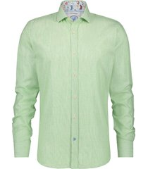 a fish named fred 22.02.042 shirt linen green green -