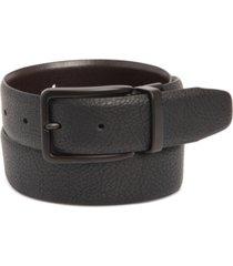kenneth cole reaction men's stretch reversible faux-leather belt