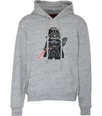 'star wars' darth vader print hoodie