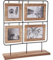 ramka drewniana stojąca 4 zdjęcia