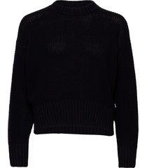 manon sweater gebreide trui zwart wood wood