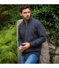 derby lagan aran sweater small