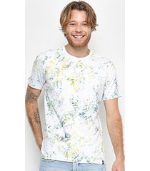 camiseta t-shirt all free tropical manga curta masculina