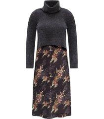 tierny dress with sweater
