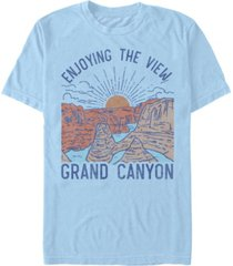fifth sun men's grand canyon short sleeve crew t-shirt