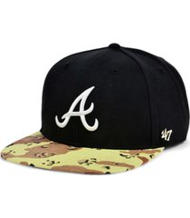 '47 brand atlanta braves operation camo snapback cap