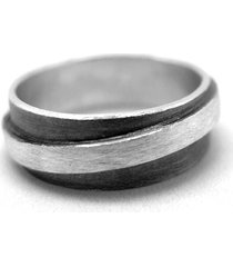 męska obrączka srebrna