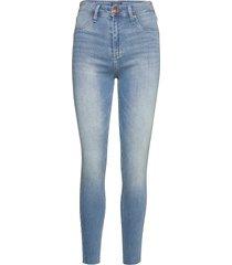 high rise jean legging skinny jeans blå abercrombie & fitch