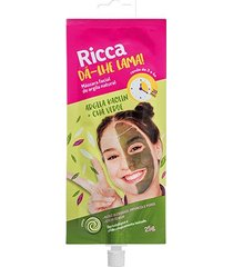 máscara facial de argila natural ricca