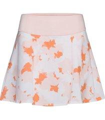 pwrshape floral skirt kort kjol rosa puma golf
