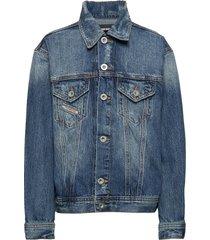 jwano jacket outerwear jackets & coats denim & corduroy blauw diesel
