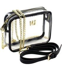 nu women taylor cross body clear purse