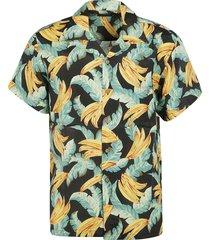 sundek tropical print shirt