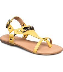 biabecca verona leather sandal shoes summer shoes flat sandals gul bianco