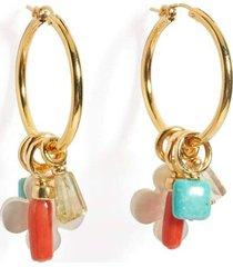 artifact hoop earrings