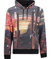balmain printed used hoodie