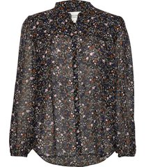 gently blouse blouse lange mouwen zwart second female