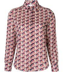 la doublej voile shirt - multicolour
