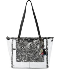 sakroots festival clear medium tote