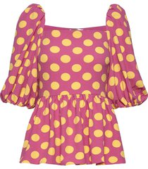 irene, 775 structure stretch blouses short-sleeved stine goya