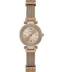 reloj guess mini soho/w1009l3 - oro/rosa