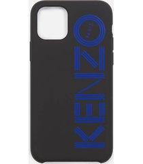 kenzo men's logo iphone 11 case - blue