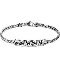 'asli classic chain' link charm slim bracelet