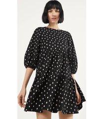 babydoll-jurk met print