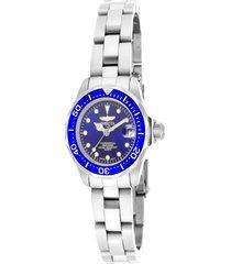 reloj invicta acero modelo 170ck para dama, colección pro diver