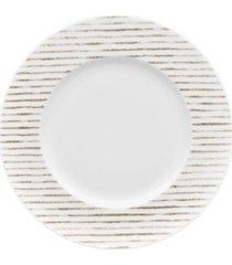 noritake hammock rim salad plate - stripes, created for macy's