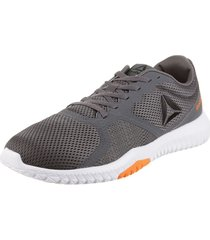zapatilla gris reebok performance  flexagon for